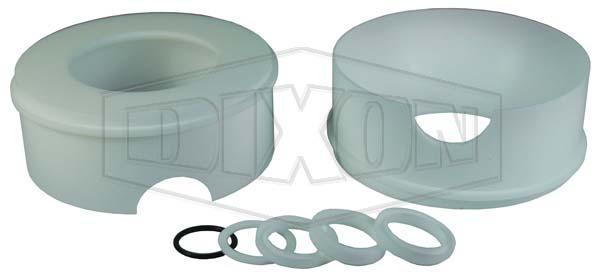 2-Way Encapsulated Sanitary 3 Piece Stainless Steel Ball Valve Repair Kit