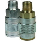 J-Series Automotive Pneumatic Male Threaded Coupler