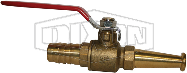 Brass Ball Valve Lever Operated Nozzle