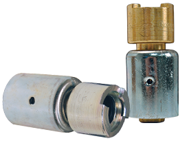 Dix-Lock™ N-Series Bowes Interchange Coupler with Ferrule Female Head