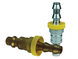DF-Series Pneumatic Push-Loc Hose Barb Plug