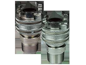 Dual-Lock P-Series Thor Interchange Male Thread Coupler