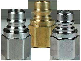 DQC V-Series Snap-Tite H/IH Interchange Unvalved Female Plug