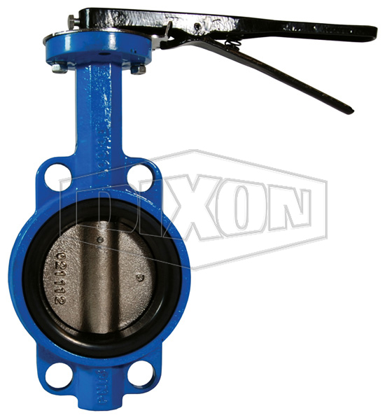 Wafer Style 150lb. Butterfly Valve with Iron Disc