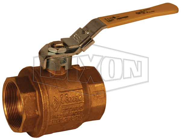 Locking Handle Imported Brass Ball Valve