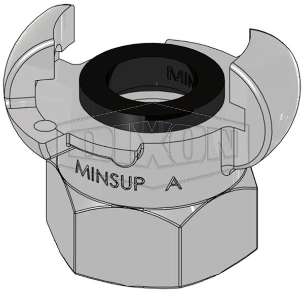 Minsup A Type Bellows Seal Female BSP End