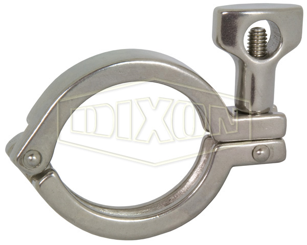 DIN32676 Single Pin Heavy Duty Clamp