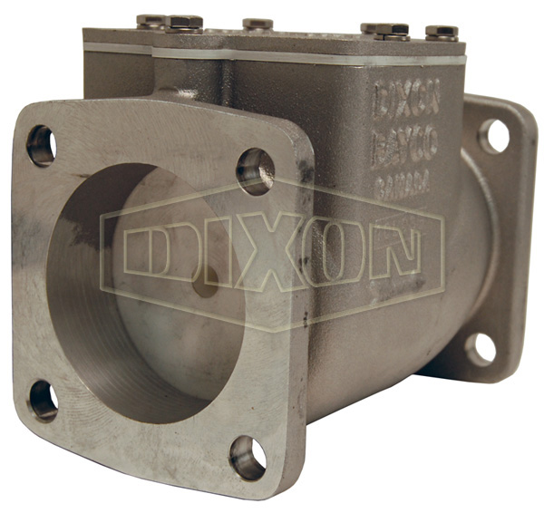 Bayco High Flow Series Swing Check Valve Square TTMA Flange