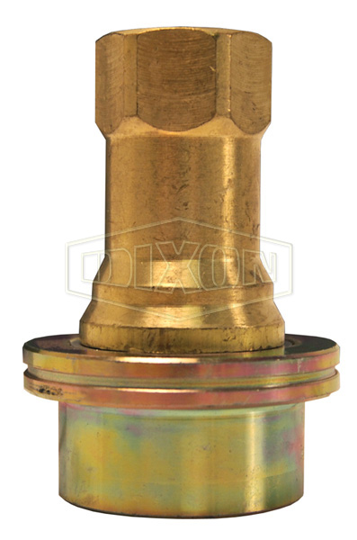 Steam Quick Disconnect Poppet Valve Coupler