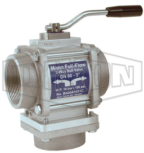 Dixon® Two-Way Full Flow Ball Valve Female NPT