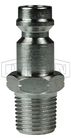 BR-Series Pneumatic Male Threaded Plug