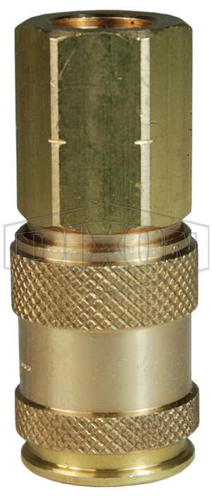 CJ-Series Pneumatic Female Threaded Coupler